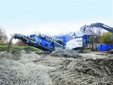 Gama de concasoare de impact MR EVO2 de la Kleemann, la «World of Concrete»
