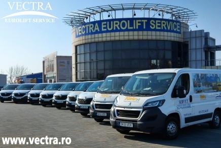 Vectra Eurolift Service asigură service pentru stivuitoare în toată țara