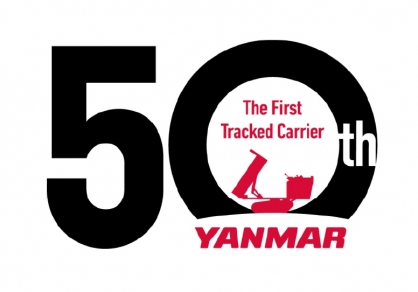 Yanmar celebrates 50th anniversary of the tracked carrier