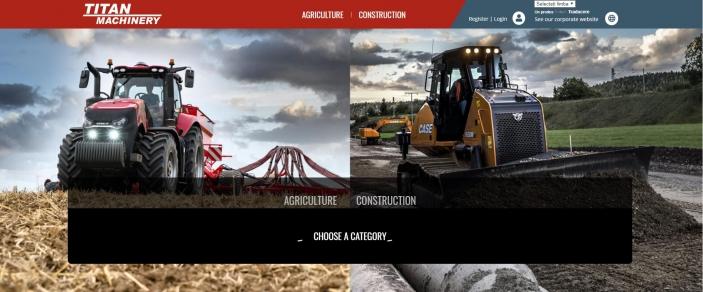 Titan Machinery lansează platforma online pentru utilaje SH