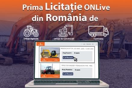 Cum puteți alege prețul pe care sunteți dispus să îl plătiți pentru un utilaj? Cum puteti achizitiona cu ajutorul primei Licitatie de Utilaje OnLive din Romania?
