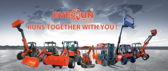 Încărcătorul frontal Everun ER 425, simbol al productivității în muncă