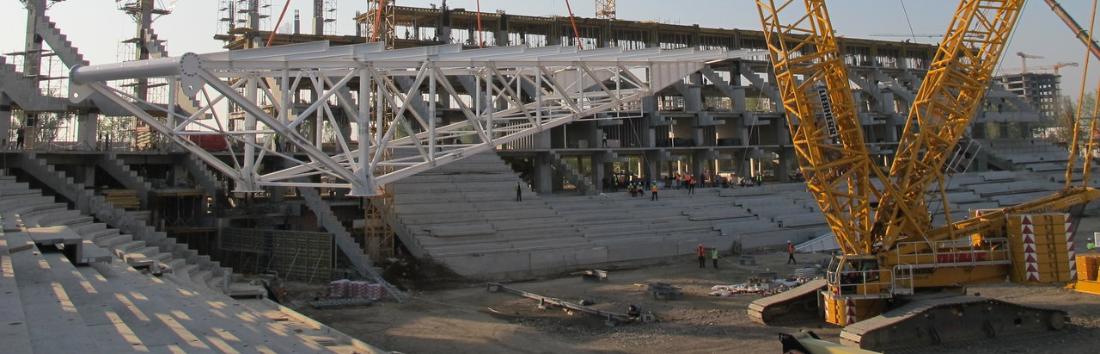 ÎNCĂ UN PROIECT DE AMPLOARE ÎN PORTOFOLIUL DEME MACARALE - Stadionul de fotbal din Ghencea
