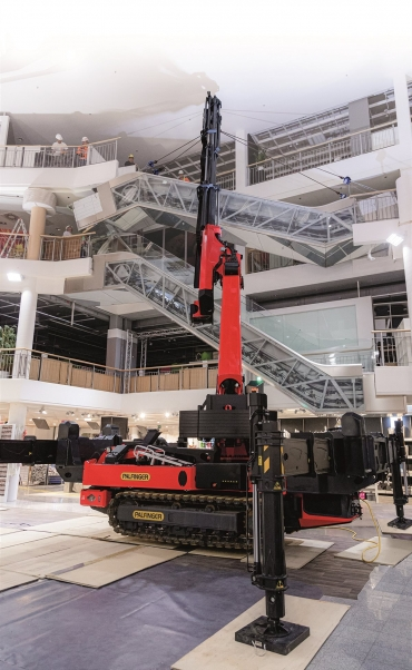 The gamechanger in crawler cranes; ideal in tight spots