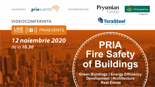 PRIA Fire Safety of Buildings ONLINE, 12 noiembrie 2020