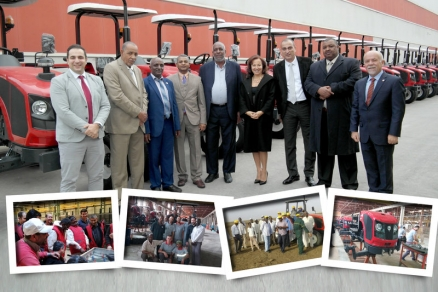 Noua linie de producție ARMATRAC din Sudan