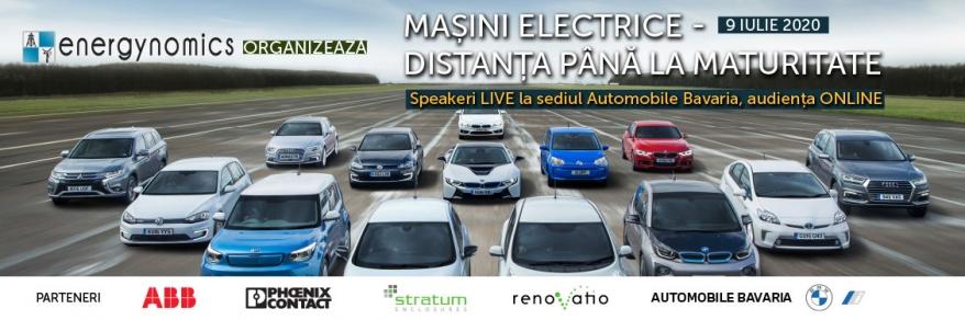 Mașini electrice – distanța până la maturitate (9 iulie – ONLINE)