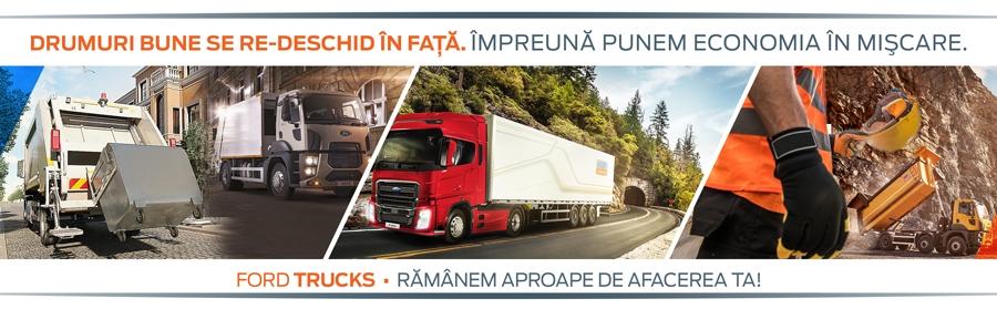 Cefin Trucks, lider în reparații de camioane, își mărește rețeaua de service-uri în România și integrează servicii aftersales pentru vehicule comerciale ușoare Ford