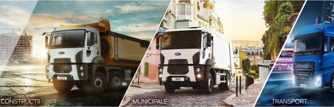 Ford Trucks vine in ajutor ca urmare a pandemiei cu COVID-19