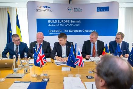 BUILD EUROPE si Patronatul Societatilor din Constructii (PSC) au prezentat Presedintiei romane la Consiliul U.E. Manifestul sau privind locuintele