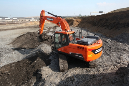 Doosan Crawler Excavators Win 2020 LCO & HRV Awards
