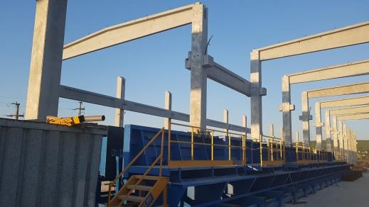 GABOR CONCRETE si BIANCHI CASSEFORME Spa livreaza in Romania o noua fabrica de elemente prefabricate din beton