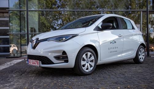 400 de RENAULT ZOE vor completa flota de car-sharing SPARK