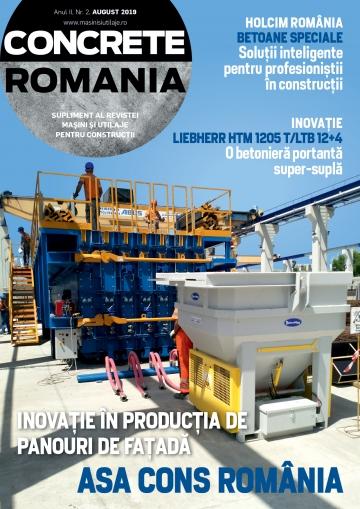 Concrete Romania - August 2019