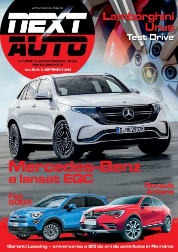 NEXT AUTO - Septembrie 2018