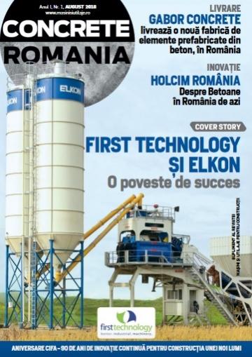 Concrete Romania - August 2018